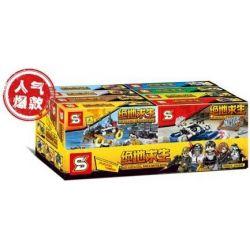 Sheng Yuan 1212 SY1212 (NOT Lego PUBG Battlegrounds Jeeps, Desert Vehicles, Offroad Four-Wheelers, Bloody Airdrops, Pickup Trucks, Hercules Transport Planes ) Xếp hình Xe Jeep, Phương Tiện Sa Mạc, Xe