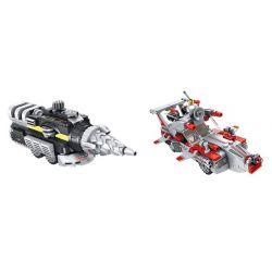 PanlosBrick 690002 690002A 690002B Panlos Brick 690002 690002A 690002B Xếp hình kiểu Lego ULTRAMAN Altman's All-in-one Tất Cả Trong Một Của Altman gồm 2 hộp nhỏ 581 khối