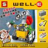 Lepin 16003 Lele 39023 Yile 407 Sheng Yuan 7007 7001 (NOT Lego Ideas 21303 Wall-E ) Xếp hình Rô Bốt Wall-E Có Điều Khiển Từ Xa 687 khối