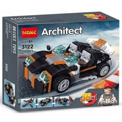Decool 3122 Jisi 3122 Xếp hình kiểu Lego CREATOR 3 IN 1 Racer 3 In 1 Xe đua 256 khối