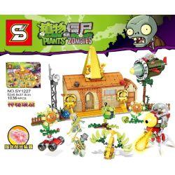 SHENG YUAN SY SY1227 1227 Xếp hình kiểu Lego PLANTS VS ZOMBIES Plants Vs. Zombies Mysterious Egypt Cây Chiến Đấu Zombie 1036 khối