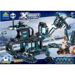 Kazi Gao Bo Le Gbl Bozhi KY6607 (NOT Lego SWAT Special Force X-Agents ) Xếp hình Đội Đặc Vụ X 794 khối