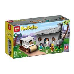 Bela 11395 Lari 11395 LEPIN 51001 SX 1030 Xếp hình kiểu Lego IDEAS The Flintstones Gia Đình Người Cổ Đại Flintstones 748 khối
