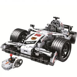 Winner 7115 Xếp hình kiểu Lego TECHNIC RC Racing Car Technology Assembly Remote Control F1 Racing Xe Đua Công Thức 1 729 khối điều khiển từ xa