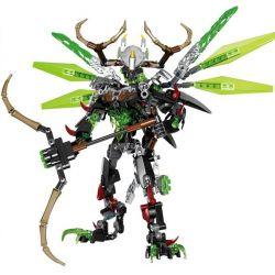 XSZ KSZ 612-2 (NOT Lego Bionicle Umarak The Hunter ) Xếp hình Chiến Binh Umaaak Cầm Cung 261 khối