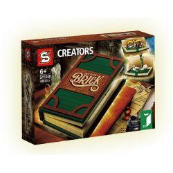 Bela 11393 Lari 11393 SHENG YUAN SY SY1248 1248 Xếp hình kiểu Lego IDEAS Pop-Up Book Fairytale Stereo Book Truyện Cổ Tích Nổi 3D 859 khối
