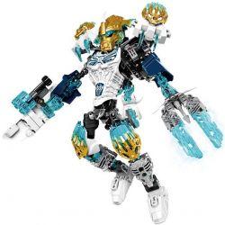 XSZ KSZ 612-1 (NOT Lego Bionicle Kopaka And Melum - Unity Set ) Xếp hình Chiến Binh Kopaka Cầm Súng 193 khối