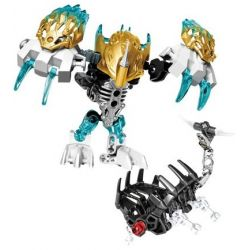 XSZ KSZ 609-6 Xếp hình kiểu Lego BIONICLE Kopaka And Melum - Unity Set chiến binh băng melum 171 khối