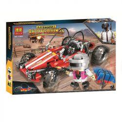 Bela 11082 (NOT Lego PUBG Battlegrounds Buggy ) Xếp hình Xe Ô Tô Địa Hình 570 khối