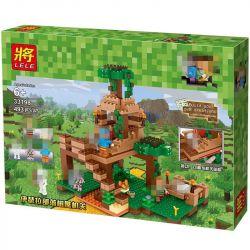 Lele 33198 (NOT Lego Minecraft My World ) Xếp hình Thế Giới Sinh Tồn 493 khối