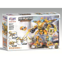Winner 8037 (NOT Lego Transformers ) Xếp hình Người Máy Biến Hình 4 Trong 1 489 khối