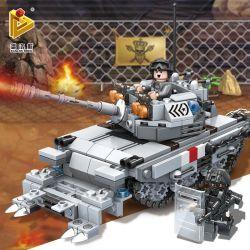 PanlosBrick 635011 Panlos Brick 635011 Xếp hình kiểu Lego GUN STRIKE GunStrike Counter-terrorism Anti-nuclear Ô Tô Chống Va Chạm Hạt Nhân 480 khối