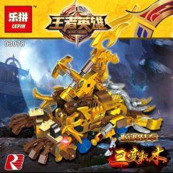 LEPIN 03078 Xếp hình kiểu Lego KING OF GLORY HEGEMONY King Hero Equity Emirates Cow Devil King Stunning Car, Stunning Bull Robot Bò Khổng Lồ 474 khối