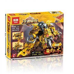 Lepin 03078 (NOT Lego King of Glory Hegemony King Hero ) Xếp hình Robot Bò Khổng Lồ 474 khối
