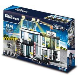 CAYI 1516 Xếp hình kiểu Lego SWAT SPECIAL FORCE SWAT Headquarters Trung tâm chỉ huy SWAT 473 khối