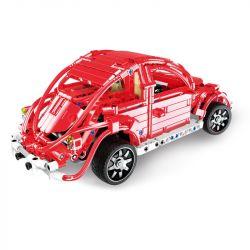 DOUBLEE CADA C51016 51016 Xếp hình kiểu Lego TECHNIC Red Beetles Xe Beetles Đỏ 472 khối điều khiển từ xa