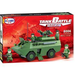 Winner 8006 Xếp hình kiểu Lego TANK BATTLE TankBattle Land War Red Arrow 9 Anti-tank Missile Tên Lửa Chống Tăng Red Arrow 9 461 khối