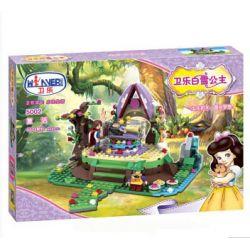 Winner 5002 Xếp hình kiểu Lego SNOW WHITE PRINCESS Wei Le Snow Princess Resurrection Giải Cứu Nàng Bạch Tuyết 460 khối