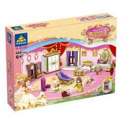 Kazi Gao Bo Le Gbl Bozhi KY98710 (NOT Lego Disney Princess ) Xếp hình Căn Phòng Của Công Chúa 458 khối