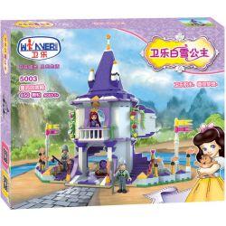 Winner 5003 Xếp hình kiểu Lego SNOW WHITE PRINCESS Wei Le Snow Princess Queen's Palace Lâu Đài Của Công Chúa 450 khối