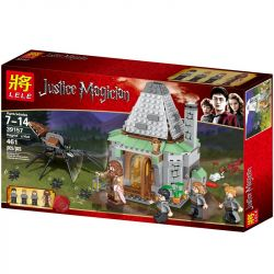 Lele 39157 (NOT Lego Harry Potter 4738 Hagrid's Hut ) Xếp hình Túp Lều Của Hagrid 442 khối