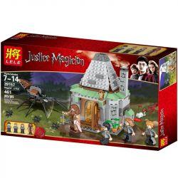 LELE 39157 Xếp hình kiểu Lego HARRY POTTER Hagrid's Hut Harry Potter Haig's Hut Túp Lều Của Hagrid 442 khối