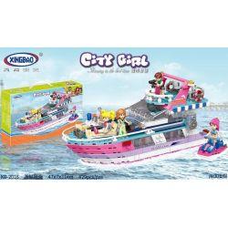 XINGBAO XB-12016 12016 XB12016 Xếp hình kiểu Lego CityGirl Yacht City Girl Thuyền Buồm 429 khối