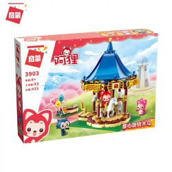Enlighten 3903 (NOT Lego Ali's Small Dreamy Town ) Xếp hình Đu Quay Vui Vẻ 433 khối