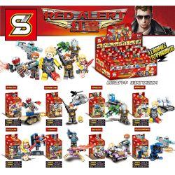 Sheng Yuan 1242 (NOT Lego Ideas Red Alert ) Xếp hình Trận Chiến Red Alert gồm 8 hộp nhỏ 425 khối
