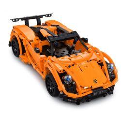 DOUBLEE CADA C51051 51051 Xếp hình kiểu Lego TECHNIC Porsche Sports Car 918 Siêu Xe 918 Spyder 421 khối điều khiển từ xa