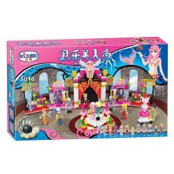 Winner 5018 (NOT Lego Disney Princess Mermaid ) Xếp hình Cung Điện Tiên Cá 413 khối