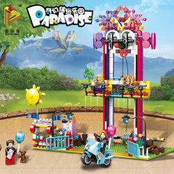 PanlosBrick 692007 Panlos Brick 692007 Xếp hình kiểu Lego Paradise Clown Jumping Machine Chú Hề Nhảy 410 khối