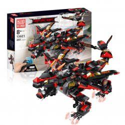 MOULDKING 13021 Xếp hình kiểu THE LEGO NINJAGO MOVIE Dragon Gongfu King Devil Dragon Kingdom Of Kingdom Devil's Dragon Quỷ Vương Chiến Long 410 khối