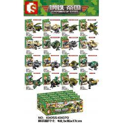Sembo 101055 101056 101057 101058 101059 101060 101061 101062 101063 101064 101065 101066 101067 101068 101069 101070 (NOT Lego Empires of steel Empires Of Steel ) Xếp hình Thiết Bị Quân Sự 16 Mẫu gồm