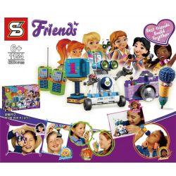 Bela 11034 Lari 11034 LEPIN 01067 SHENG YUAN SY 1154 Xếp hình kiểu Lego FRIENDS Friendship Box Good Friend Friendship Package Hộp Tình Bạn 563 khối