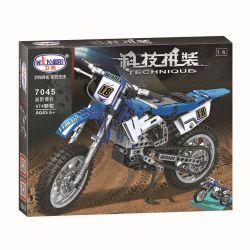 Winner 7045 Xếp hình kiểu Lego TECHNIC The Off-road Motorbike Off-road Motorcycle 1 6 Mô Tô Địa Hình Tỉ Lệ 1 6 474 khối