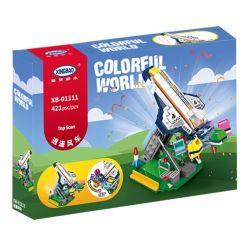 XINGBAO XB-01111 01111 XB01111 Xếp hình kiểu Lego COLORFUL WORLD Colorful World Top Scan Variety Aerospace Aircraft Happy Windmill Tàu Vũ Trụ 421 khối