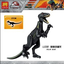 Lele L030 (NOT Lego Jurassic World Indoraptor Rampage At Lockwood Estate ) Xếp hình Khủng Long Polar Bear 1019 khối