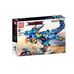 MOULDKING 13018 Xếp hình kiểu THE LEGO NINJAGO MOVIE Dragon Gongfu King Mine Dragon Kingdom Of Kingdom Thunderbolt Thunderbolt. 410 khối