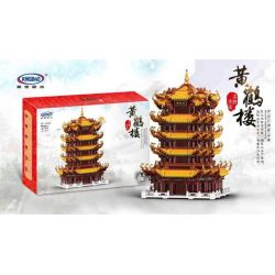 Xingbao XB-01024 (NOT Lego Modular Buildings Pagoda Tower Of China ) Xếp hình Chùa Tháp Trung Quốc 6794 khối