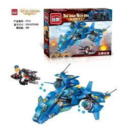 Enlighten 2714 Qman 2714 Xếp hình kiểu Lego THE HIGH-TECH ERA Technology Era I Fairy Nàng Tiên 406 khối