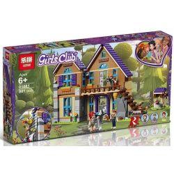 Lepin 01081 Lele 37112 (NOT Lego Friends 41369 Mia's House ) Xếp hình Ngôi Nhà Của Mia 715 khối