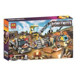 Bela 11129 Lari 11129 Xếp hình kiểu Lego FORNITE Fortnite Fortress Night 11129 Đêm ở Pháo đài 654 khối