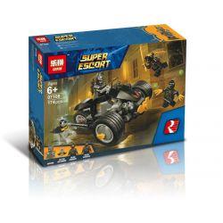 Bela 11021 Lari 11021 LEPIN 07108 Xếp hình kiểu Lego DC COMICS SUPER HEROES Batman The Attack Of The Talons Batman Batman Wars Claw Legion Batman The Attack Of The Talons 155 khối