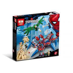 Bela 11187 Lari 11187 Decool 7136 Jisi 7136 LELE 34069 LEPIN 07113 SHENG YUAN SY SY1264 1264 XINH 9004 Xếp hình kiểu Lego MARVEL SUPER HEROES Spider-Man's Spider Crawler Spider-Man Spider-Man's Big Sp