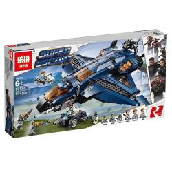 NOT Lego MARVEL SUPER HEROES 76126 Avengers Ultimate Quinjet Avengers Quinn Fighter (Delicate Edition) , Bela 11261 Lari 11261 JISI 7141 LEPIN 07122 PRCK 64014 SHENG YUAN SY SY1333 1333 Xếp hình Máy B