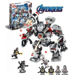 NOT Lego MARVEL SUPER HEROES 76124 War Machine Buster Avengers 4 Gears Of War Heavy Armor , Bela 11259 Lari 11259 BLANK 70100 JISI 7140 LELE 34085 LEPIN 07120 LQS 7888 SHENG YUAN SY SY1331 1331 SX 401