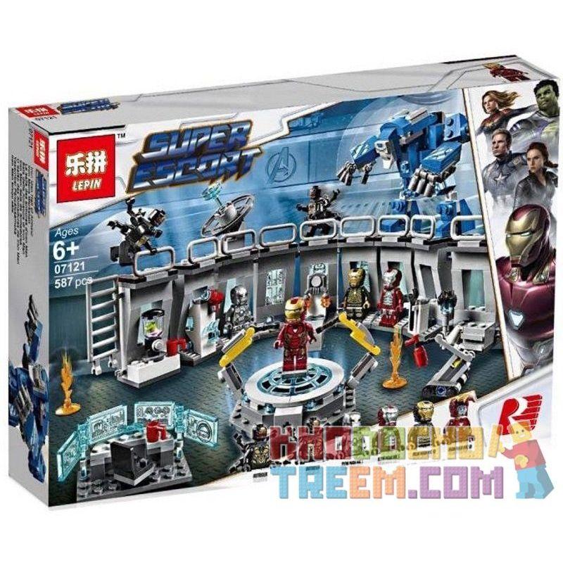 NOT Lego MARVEL SUPER HEROES 76125 Iron Man Hall Of Armour, Bela 11260 Lari 11260 ELEPHANT JX0002 0002 JISI 7138 LELE 34091 LEPIN 07121 SHENG YUAN SY SY1322 1322 SY1332 1332 SX 4017 ZIMO ZM251 Xếp hìn