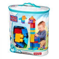 Mega Bloks Mega Bloks DCH63 First Builders® Big Building Bag Xếp hình Bộ Xếp Hình Khối Siêu Lớn Đầu Tiên 80 khối