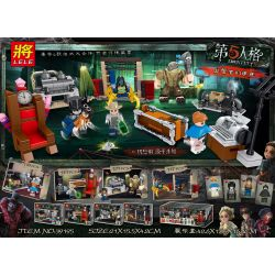 LELE 39195 Xếp hình kiểu Lego IDENTITY V 5th Person 4 Models Of Supervisors Căn Phòng Bí ẩn 485 khối